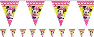 Minnie Mouse Plastic Bunting - 2.3m