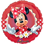 "Minnie Mouse Red Balloon - 18"" Foil"