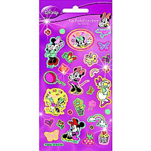 Stickers Minnie Mouse Sticker Sheet