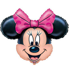 "Minnie Mouse Shape Balloon - 28"" Foil"