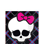 Monster High Beverage Napkins - 2ply Paper