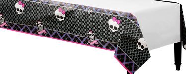 Monster High Plastic Tablecover - 137cm x 259cm