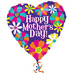 "Happy Mother's Day Colour Blast - 21"" Foil"