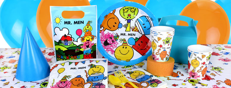 Mr Men Party Supplies Party Delights