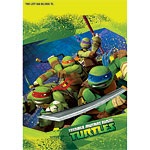 Ninja Turtles Party Bags - Plastic Loot Bags