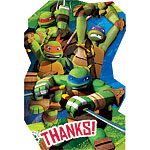 Ninja Turtles Party Thank You's