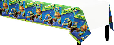 Ninja Turtles Paper Tablecover