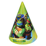 Ninja Turtles Party Cone Hats