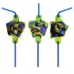 Ninja Turtles Drinking Straws