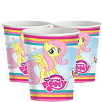 My Little Pony Cups - 266ml Paper Party Cups