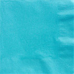 Turquoise Dinner Napkins - 2ply Paper