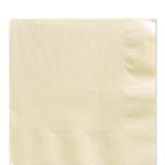 Ivory Luncheon Napkins - 2ply Paper