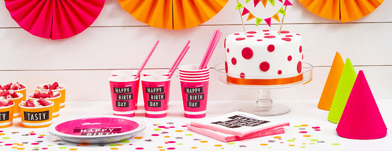 Neon Party Supplies Woodies Party