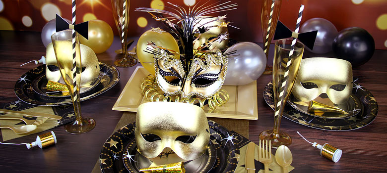 Masquerade ball party ideas delights