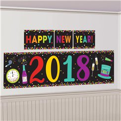Colourful New Year 2018 Decoration Kit - 1.5m