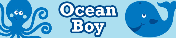 Ocean Boy Party Supplies