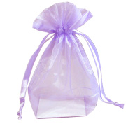 Organza Medium Bags Lilac