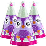 Owls Party Hats