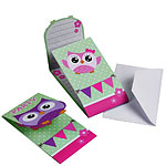 Owls Party Invites