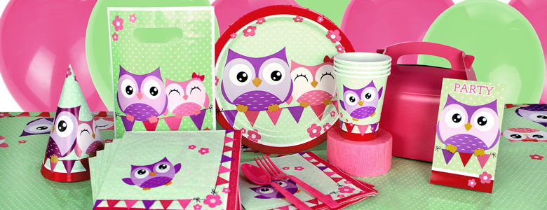 Owl Party Supplies