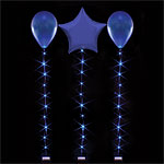 Blue Balloon Lights - 1m