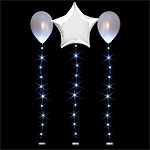 White Balloon Lights - 1m