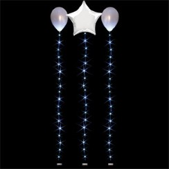 White Balloon Lights - 1.8m