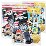 Pirates Pre-filled Party Bags  x 10