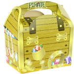 Pirate Treasure Chest Party Box - 15cm long