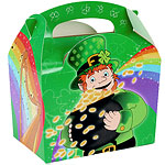 St Patrick's Day Party Box - 15cm long