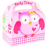 Owl Party Box - 15cm long