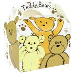 Teddy Bears Party Box - 15cm long