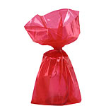 Red Small Cellophane Party Bags - 24cm