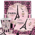 A Day In Paris Party Pack - Value Pack for 8
