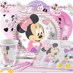 Baby Minnie Party Pack - Deluxe Pack for 8