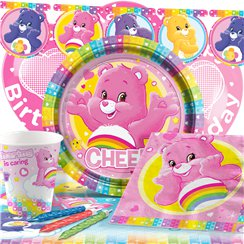 Care Bears Party Pack - Deluxe Pack for 8