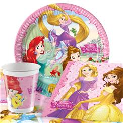 Disney Princess Party Pack - Value Pack for 8