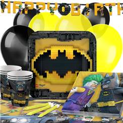 LEGO Batman Party Pack - Deluxe Pack for 16