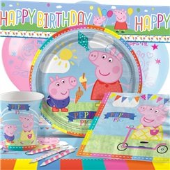 peppa pig party pack deluxe pack for 8