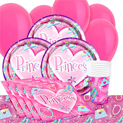 Prismatic Princess Party Pack - Value Pack for 8