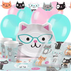 Purr-Fect Party Pack - Deluxe Pack for 16