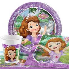 Sofia the First Party Pack - Value Pack For 8