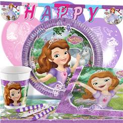 Sofia the First Party Pack - Deluxe Pack for 8