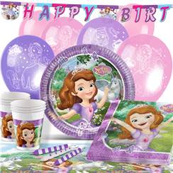 Sofia the First Party Pack - Deluxe Pack for 16