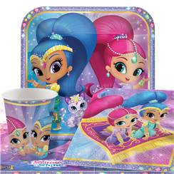 Shimmer & Shine Party Pack - Value Pack For 8
