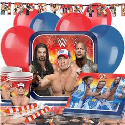 WWE Wrestling Party Pack - Deluxe Pack for 16