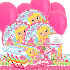 Woodland Princess Party Pack - Value Pack for 8