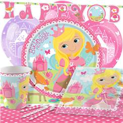 Woodland Princess Party Pack - Deluxe Pack for 8