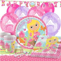 Woodland Princess Party Pack - Deluxe Pack for 16