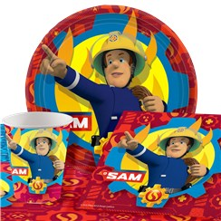 Fireman Sam Party Pack - Value Pack For 8